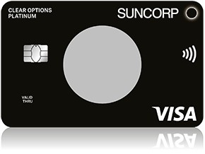 Black Platinum Suncorp Visa credit card