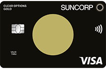 Front of Suncorp gold credit card