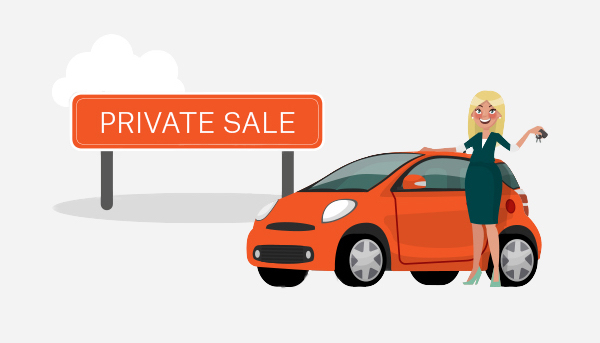 selling a car trading in vs private sale suncorp