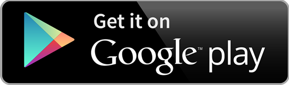 Get in on Google play logo